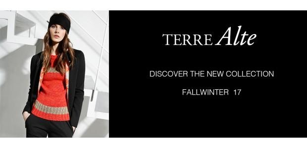 sale retailer 6ffba 9076c NUOVA COLLEZIONE AUTUNNO/INVERNO 2017 - Terre Alte